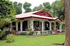The owner had always dreamed of living in a traditional bahay-na-bato, but opted to construct a bungalow instead, to keep down costs.…