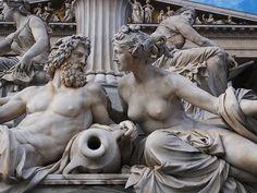 Athena Fountain Vienna, Austria