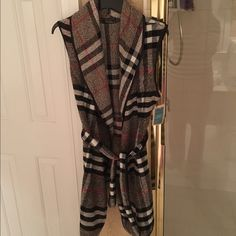 Burberry Brit Style long Cardy Brand new with tags perfect with your favorite Burberry Handbag Tops Tunics