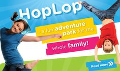 HopLop – a fun exercise adventure park for the whole family