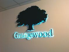 Illuminated Signs, Outdoor Signage, Workplace, Light Up, Neon Signs, Lettering, Bespoke, California, Eye