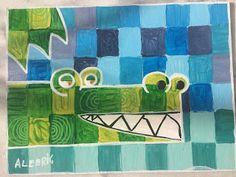 Les ateliers ARTiFun - atelier d'arts plastiques et loisirs créatifs en Guadeloupe: MOSAÏQUE & CAMAÏEUX Peter Pan Art, Art Projects, Projects To Try, Project Ideas, Atelier D Art, School Painting, Ecole Art, Kids Zone, Crocodiles
