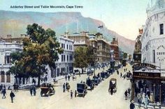 Postcards of the Past - Vintage Postcards of Cape Town, South Africa Old Pictures, Old Photos, Cape Town South Africa, Honolulu Hawaii, Countries Of The World, Historical Photos, Vintage Postcards, Landscape Photography, Nordic Walking