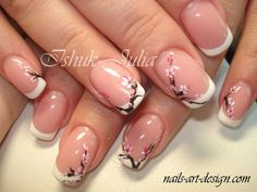 """If you're unfamiliar with nail trends and you hear the words """"coffin nails,"""" what comes to mind? It's not nails with coffins drawn on them. It's long nails with a square tip, and the look has. Nail Art Designs, French Nail Designs, Nail Designs Spring, Nails Design, Design Art, Design Ideas, French Nails, French Manicure Toes, French Toes"""