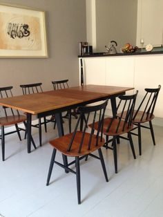Ilmari Tapiovaara Dining Room, Dining Table, York, Interior Design, Furniture, Home Decor, Scandinavian, Style, Nest Design