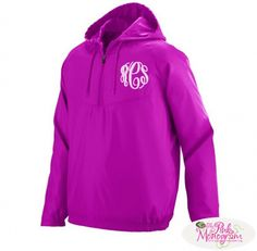 Monogrammed Avail Pullover in Pink , Blue and Black  Apparel  www.thepinkmonogram.com
