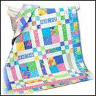 Love the colors in this for a baby quilt.