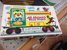 Lovely train jigsaw Puzzle, Presents, Train, Gifts, Favors, Riddles, Puzzles, Gift, Puzzle Games