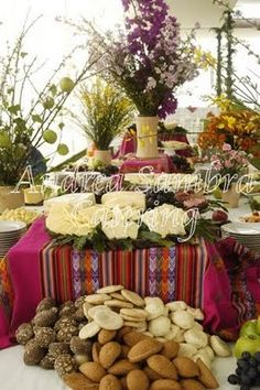 For those who want to stick to your South American roots  Peru wedding  table settingPeruvian inspired wedding ideas   Photo by Pabelona Studio   Read  . Peruvian Wedding Dress. Home Design Ideas