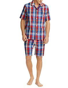 2493e779c3 Pijama a cuadros Polo Ralph Lauren en tela de Algodón - Varela Intimo