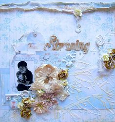 Stunning- Scraps of Elegance September Kit - Scrapbook.com