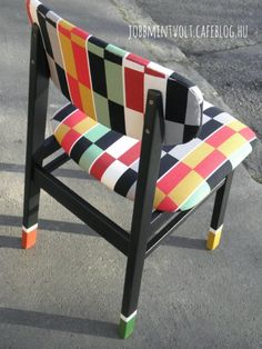 chair reupholstered makeover
