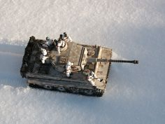 """1/24 scale Panzer Mk VI """"Tiger I"""". I have a 1/24 scale """"Tiger II"""" with complete interior, but don't know if I'll ever build it."""