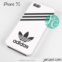 white adidas custom Phone case for iPhone 4/4s/5/5c/5s/6/6 plus