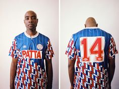 abca89fc0 Patta   Umbro Join Forces on a Football Jersey Collection