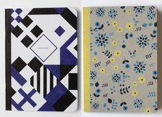 print & pattern blog:  papier tigre notebooks
