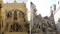 10 fotos de Siria, antes y después de la guerra