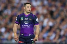 Cooper Cronk of the Storm looks on during the 2017 NRL Grand Final match between the Melbourne Storm and the North Queensland Cowboys at ANZ Stadium on October 1, 2017 in Sydney, Australia. http://footyboys.com