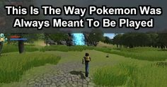 Guy Builds A Pokemon Game That Users Have Always Dreamed Of. AMAZING. #nerdstatus
