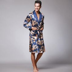Chinese Style Bathrobe a8b750f26