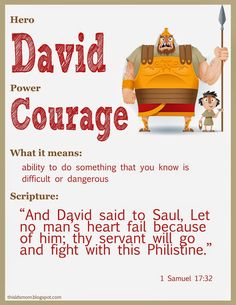 This LDS Mom: Scripture Heroes: Story of David and Goliath