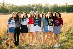 Class of 2018 Senior Farewell Friend Senior Pictures, Senior Year Pictures, Friend Photos, Senior Photos, Grad Pictures, Senior Session, Senior Portraits, Senior Class Shirts, Graduation Shirts