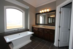 Contemporary Bathroom built by DTB Construction