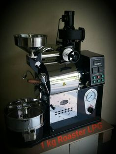 Too micro? Fine for single not for resort-wide. 1kg small Roaster #coffeebeanroaster