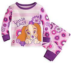Lady The Tramp Long Sleeve Pajamas for Baby Girl Size 18 24 Months Disney Disney Pajamas, Girls Pajamas, Baby Boy Outfits, Kids Outfits, Disney Outfits, Disney Clothes, Fairytale Fashion, Teen Girl Fashion, Baby Disney