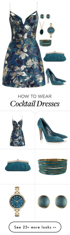 """The Dean's Welcome Cocktail Mixer"" by charactertickles on Polyvore featuring Zimmermann, Casadei, Alexis Bittar, ASOS and Marc by Marc Jacobs"