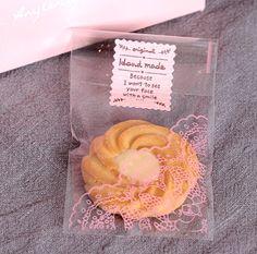 13 * 6 cm plastica cookie lollipop della caramella sacchetto regalo di plastica trasparente clear food piatti di imballaggio sacchetti del opp(China (Mainland))