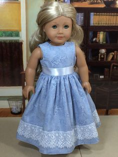 18 Inch Doll Clothes for American Girl Dolls  Lavender & Lace