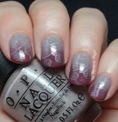 Polish Hound: [Guest Post] The Mercurial Magpie: KBShimmer Mail & Gradient Stamping!