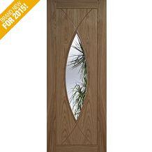 LPD Doors Internal Pre-Finished Oak Glazed Milan Door Internal Glazed Doors, Milan
