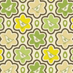 Entire shop on SALE SALE Nest Egg in Green by fivemonkeyfabrics, $1.35