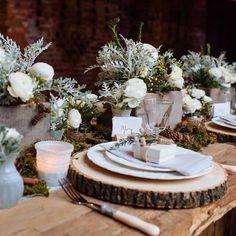 Wedding Themes, Our Wedding, Laid Back Wedding, 2017 Wedding, Wedding Menu, Rustic Wedding Centerpieces, Table Decor Wedding, Natural Wedding Decor, Small Wedding Decor
