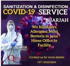 Prevent the spread of the infections through anti-viral and sanitation services,....more details visit website Best Pest Control, Pest Control Services, Sharjah, Visit Website