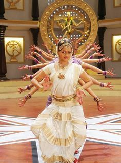 Dancing Bhavana Menon