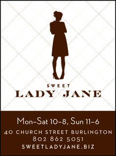 Sweet Lady Jane // Burlington, VT // Thread Mag Supporter