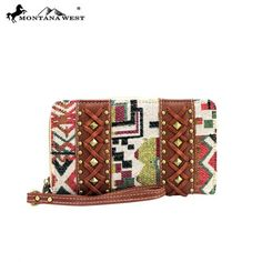 KA-W003 Montana West Western Aztec Collection Wallet