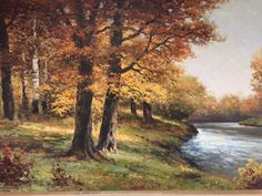 Robert Wood Autumn Scene, unpublished DAC Collection - Donald Art Company Collection
