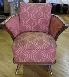 Art Deco Collection.com - Art Deco Furniture - Seating - European Mahogany Chairs