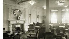 Titanic's reading room