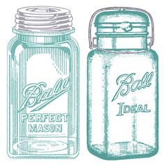 25 Awesome Mason Jar Creations and printables - The Cottage Market