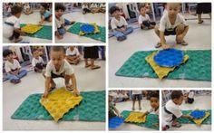 Brinquedos e atividades com material reutilizado: Cores e formas da bandeira do Brasil