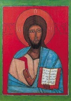 Ikona ,Jerzy Nowosielski ,1958