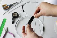 como fazer uma cupula de abajur com arame - Pesquisa Google