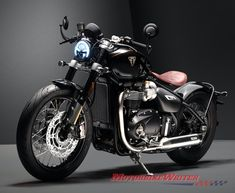 Triumph Motorcycles is adding a stunning, exclusive and expensive Bobber TFC (Triumph Factory Custom) to its new customised range as expected. Triumph Motorcycles, Triumph Bobber Custom, Indian Motorcycles, Triumph Cafe Racer, Cafe Racer Bikes, Mv Agusta, Triumph Speedmaster, Lamborghini, Bike Cover