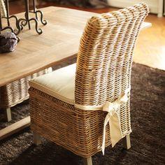 Is Kubu For You?: Kubu Grey Rattan Dining Chairs - Driven by Decor