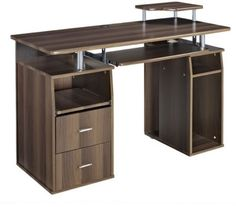 Multi-Storage 2 Drawer Computer Desk Home Office Study Furniture Executive Work    Get Now  this Cheap Offer. At Luxury Home Brands WE always Find Great Stuff for you :)